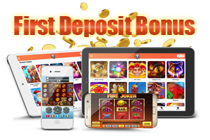 First Deposit Bonus main image